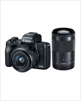 Canon M50 15-45mm+55-200mm